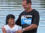 Baptism in Pohnpei.