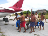 Medical Evacuation on the Island of Fais, Yap.